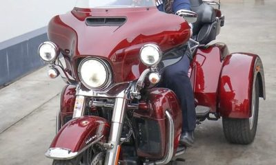 (Video) En medio de necesidades de la perrada, senadora pasea en su triciclo de US$25.000, y la trozan