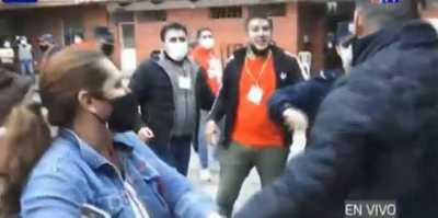 """Grave pelea tras visita de Óscar """"Nenecho"""" Rodríguez a local electoral"""