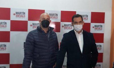 "Martín Arévalo acusó a Centurión de ""comprar cédulas"""