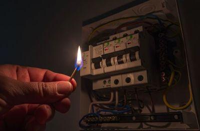 San Juan Bautista: Apagón general de electricidad en pleno conteo de votos