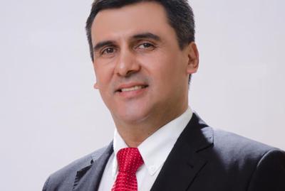 Amado Díaz Verón es candidato del Partido Colorado en Caazapá
