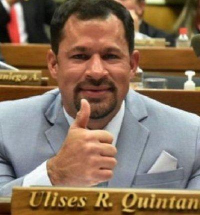 La sorpresa de la noche: Ulises Quintana será el candidato colorado por Ciudad del Este