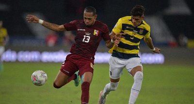 Una valiente Venezuela rescata un agónico empate ante Ecuador en Río
