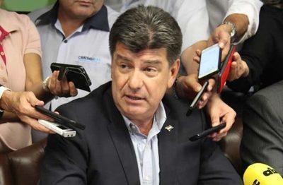 Efraín Alegre, reelecto presidente del directorio del PLRA