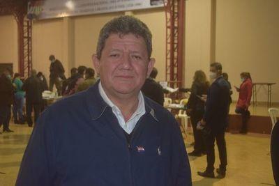 César Rojas, de Concordia colorada, es candidato de la ANR en Encarnación