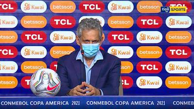 Conferencia de prensa de Reinaldo Rueda