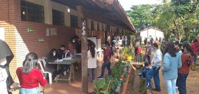 Reñidas elecciones entre Añetete y HC en el departamento de Caaguazú