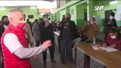 Dani Centurión reconoció su derrota y pidió unidad en el partido