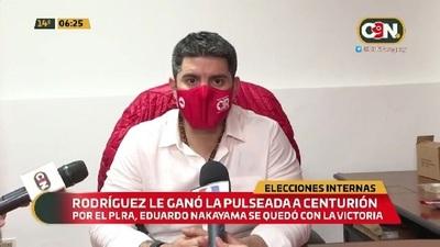 Resultado de las internas: Rodríguez le ganó la pulseada a Centurión