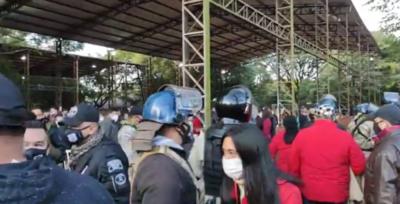 Internas: Registran cuarenta denuncias a nivel país y en el Este solo en Minga Guazú hubo intervención