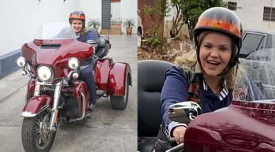 Mientras faltan insumos en hospitales, senadora se pasea en Harley de US$ 25.000