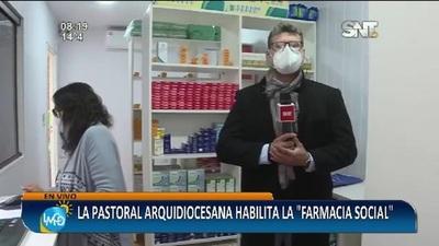 """La Pastoral Arquidiocesana habilita la """"Farmacia Social"""""""