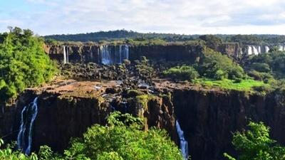 Cataratas del Yguazú refleja preocupante sequía