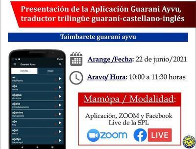 Lanzan innovadora app con traductor guaraní-castellano-inglés para aprender guaraní •
