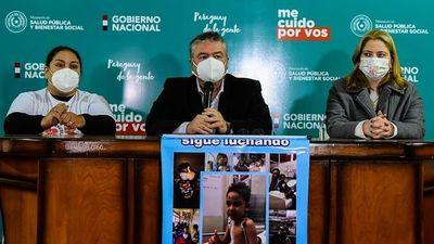 Manuelito necesita de G. 90 millones para seguir con su lucha