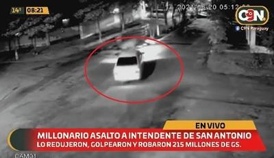 Asalto a intendente: Investigarán robo y origen del dinero
