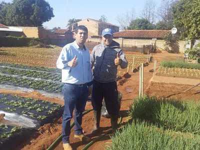 CAH cuenta con apoyo financiero para que jóvenes agricultores cultiven hortalizas