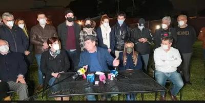 Alegre anunció que trabajará por la unión del PLRA