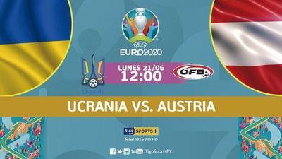 Ucrania y Austria, por un lugar en octavos