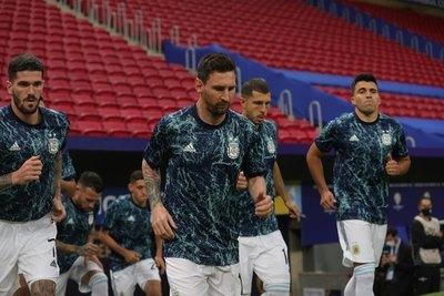 ¿Subestiman a Paraguay? Argentina daría descanso a Messi y otros titulares