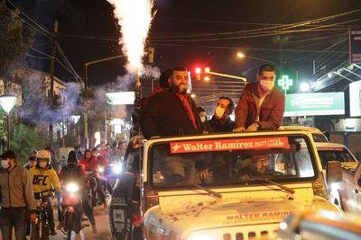 Movimiento de Tigre Ramírez se impuso en 10 municipios de Canindeyú
