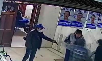 Investigan asalto violento a Intendente Municipal de San Antonio
