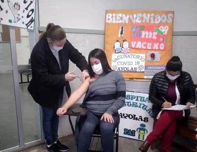 Más de 3.600 embarazadas se vacunaron contra el COVID durante 'Día E'