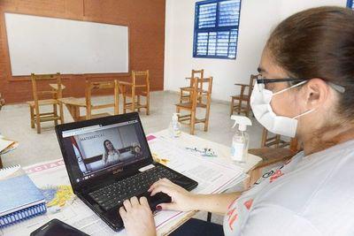 Gremios docentes no descartan brazos caídos en clases virtuales y posible movilización ante recortes del MEC