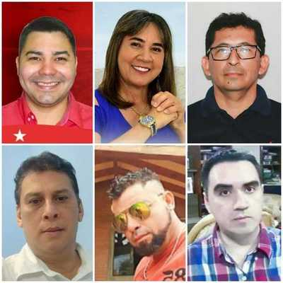 Ya están los seis candidatos que competirán por la intendencia de Concepción