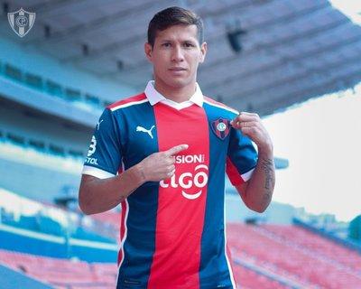 Cerro Porteño anuncia el fichaje de Rafael Carrascal