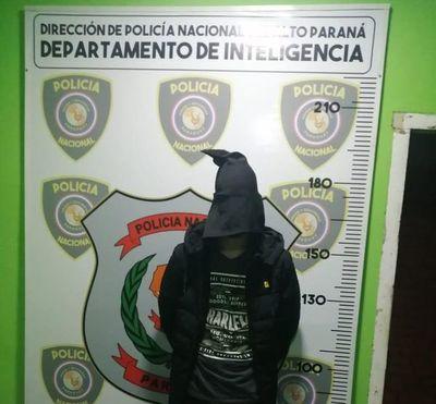Fiscalía imputa a un joven que circulaba en vehículo robado en Brasil