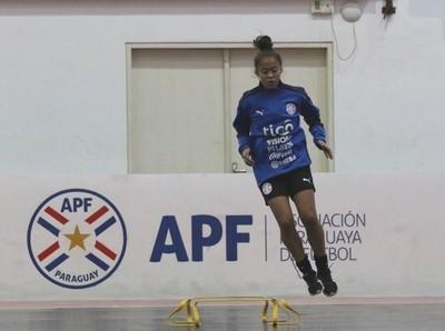 La Albirroja Femenina Sub 20 inició entrenamiento en el COP
