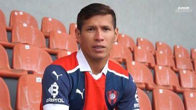 Rafael Carrascal revela quién lo convenció de venir a Cerro Porteño