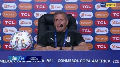 El Maestro Tabárez confía en sus jugadores