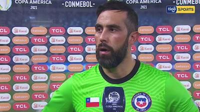 Claudio Bravo, el destacado en Chile