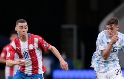 Copa América: Paraguay cae 1-0 ante Argentina que se metió a cuartos