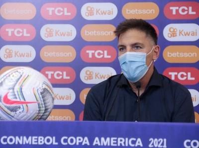 "Eduardo Berizzo: ""El empate hubiese sido lógico"""