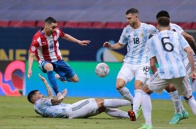 Paraguay acumula 100 años sin ganar a Argentina en Copa América