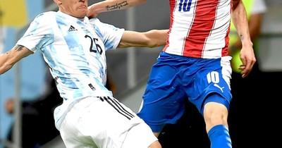 La Nación / Argentina aguantó, Paraguay fue puro empuje