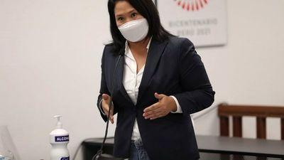 Juez peruano  decide que Keiko Fujimori siga en libertad