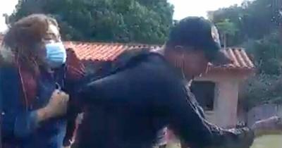 """La Nación / El """"boxeo"""" y los asaltos estuvieron presentes en la jornada electoral"""