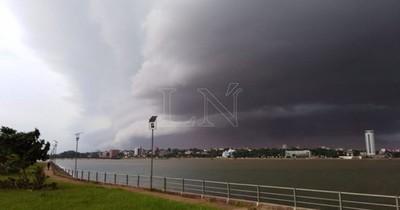 La Nación / Pronostican martes fresco a cálido y lluvias dispersas