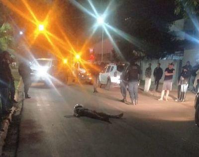 Paraguayo termina muerto tras intentar asaltar a policía brasileño