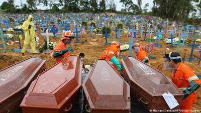 COVID-19: Suramérica ya es el foco global de muertes