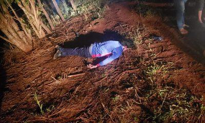 Asesinan a un hombre al costado de la Ruta PY 02, tras una discusión – Diario TNPRESS