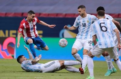La Selección Paraguaya cae ante Argentina