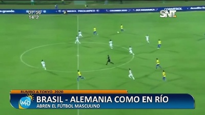 Rumbo a Tokyo 2020: Brasil vs Alemania abren el fútbol masculino