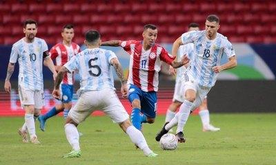 Paraguay; la única selección sin gol en la fecha 3 de la Copa América