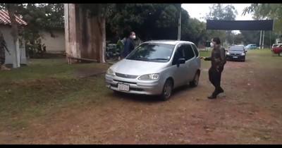 La Nación / COVID-19: habilitan autovac en la playa de Areguá
