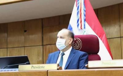 Inminente reelección de Oscar Salomón como presidente del Senado